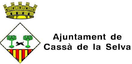 Logotip Ajuntament Cassà de la Selva